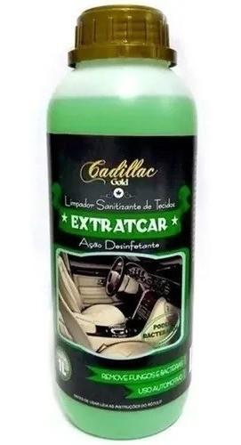 EXTRATCAR Cadillac Limpador De Tecidos - 1 Litro