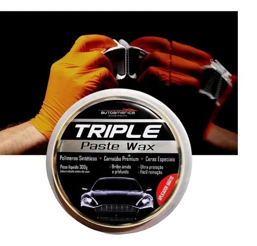 Cera Autoamerica Triple Wax 300gr Top