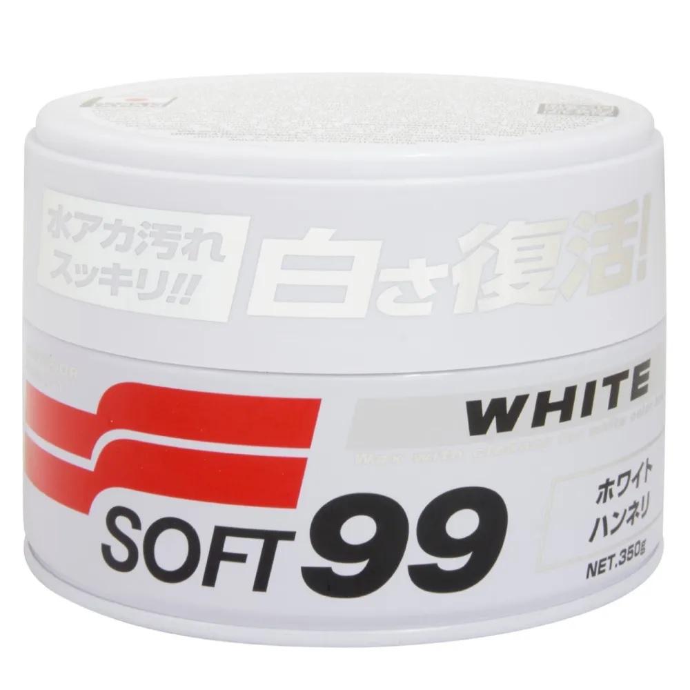 Cera Carnaúba Para Carros Brancos - 350g Soft99 White Wax