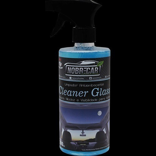 CLEANER GLASS Limpa Vidros Antiembaçante Nobre Car 500ml