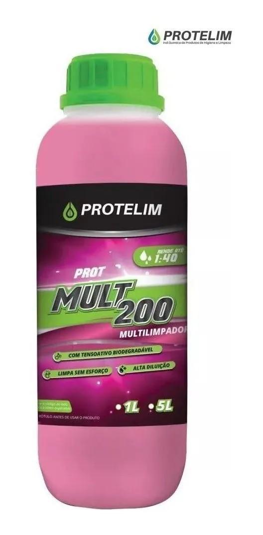 PROT MULTI 200 Desengraxante Multilimpador 1lt Protelim