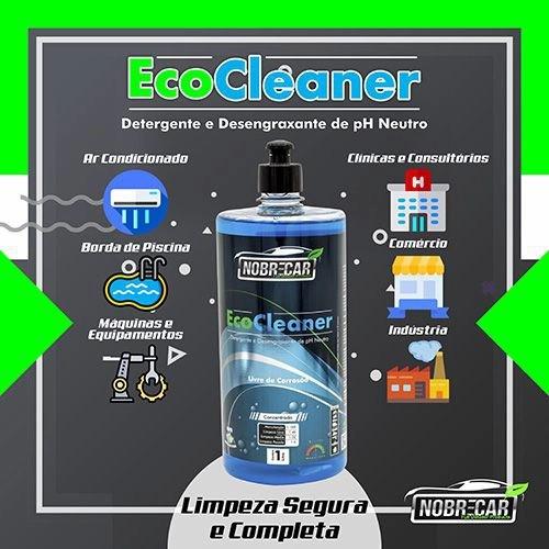 ECO CLEANER Shampoo desengraxante  1l Nobrecar