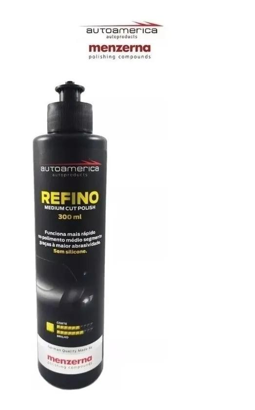 Kit Polimento Menzerna 300ml Corte Refino Lustro Autoamerica