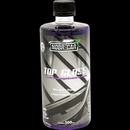 TOP GLASS Limpa Vidro Desengordurante 500ml Nobrecar