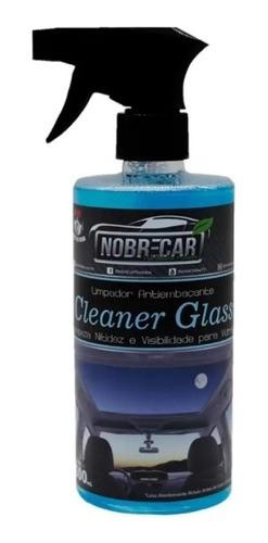 Limpa Vidros Top Glass + Anti Embaçante Cleaner Nobre Car