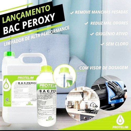 BAC PEROXY Limpador De Alta Performance 1 Litro Protelim