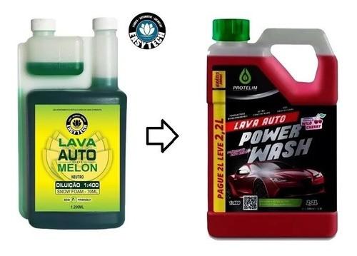 Melon +power Wash 2.2l Shampoo Neutro