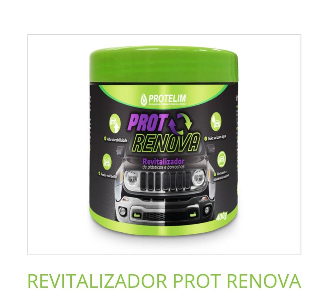 PROT RENOVA Renovador De Plásticos E Borrachas- Protelim 400g