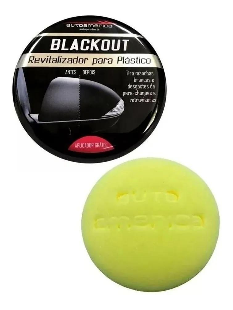 Revitalizador Para Plástico Blackout Renova Para-choque