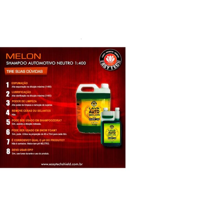 MELON CONCENTRADO Shampoo  Neutro 1:400  - 1,2 litros Easytech