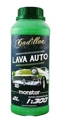 Shampoo Automotivo Concentrado Lava Auto Monster Cadillac 2L