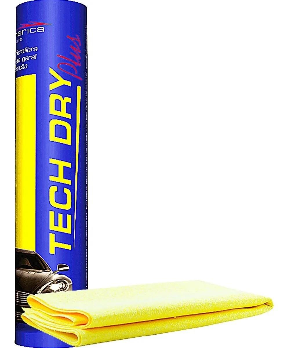 Toalha Pano Microfibra Secagem Tech Dry 70x40 Automotiva