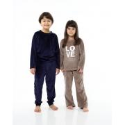 Pijama Infantil Sherpa