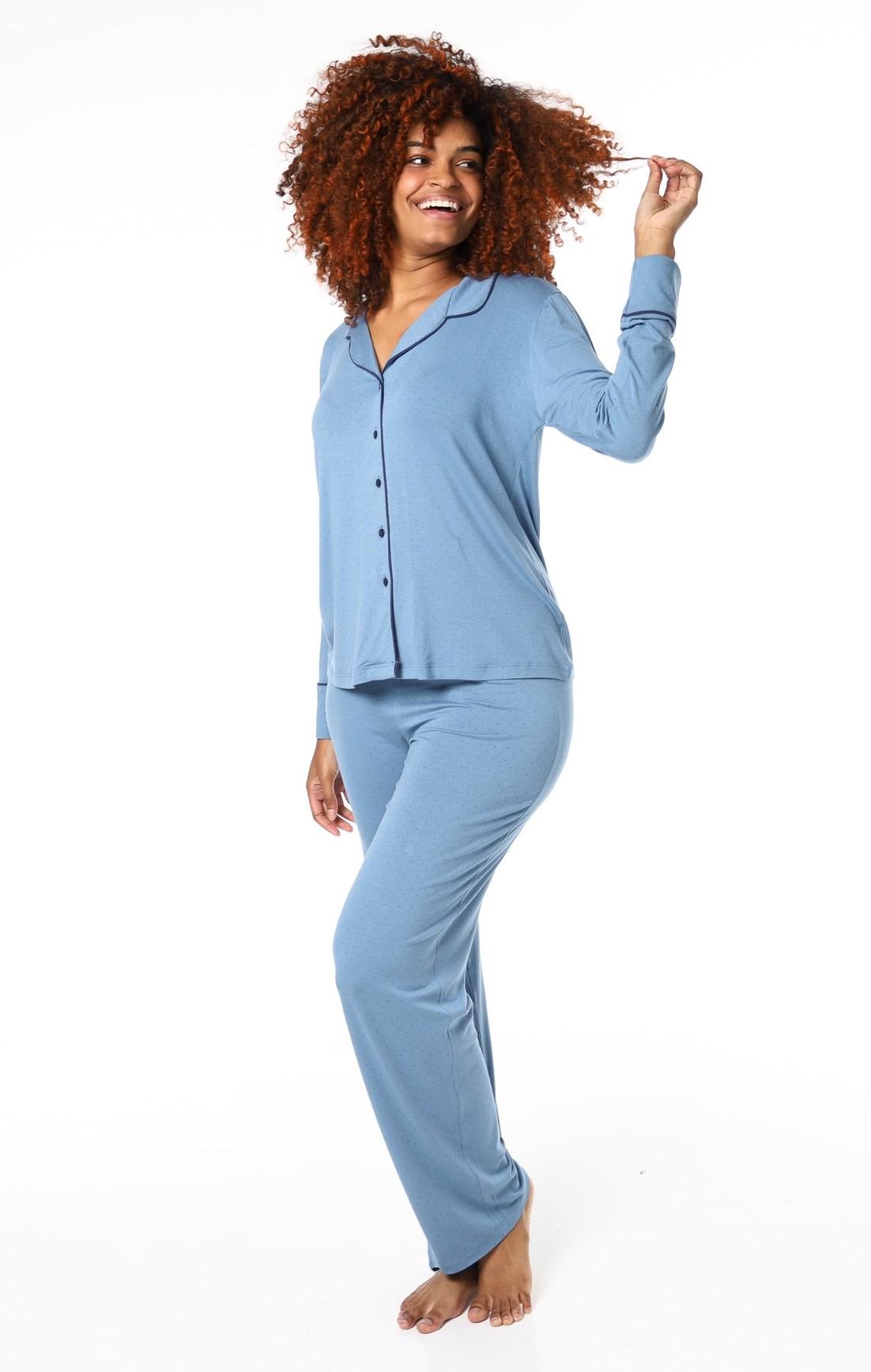 Pijama Poá Blue