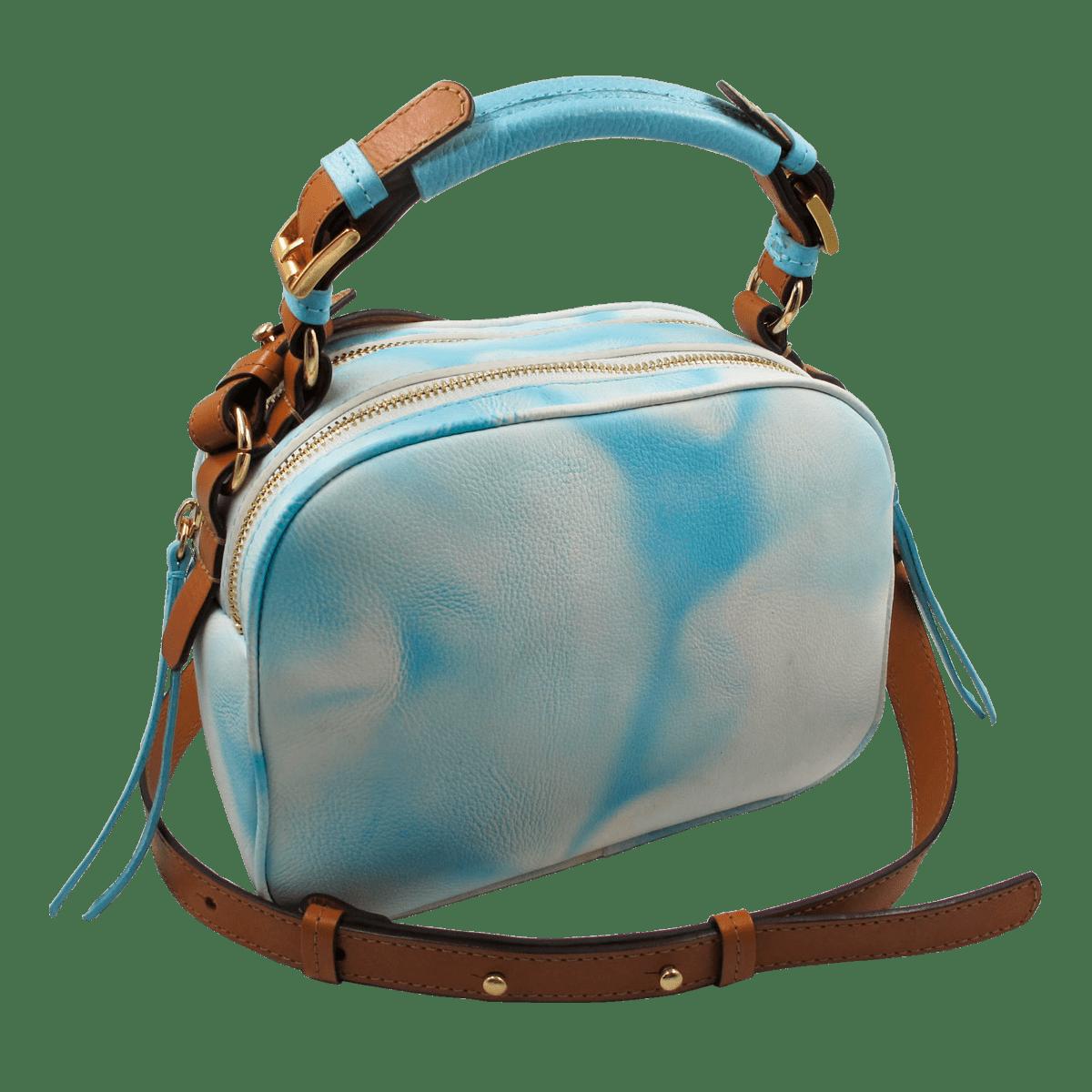 Bolsa Galícia Tie Dye Aquamarine