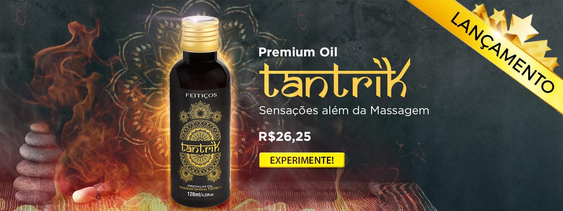 Óleo Premium para Massagem - Tantrik