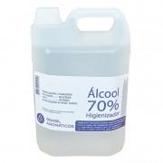 Álcool Líquido 70% INPM 5L