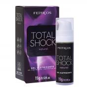 Total Shock Natural Vibrador Líquido em Gel 15g