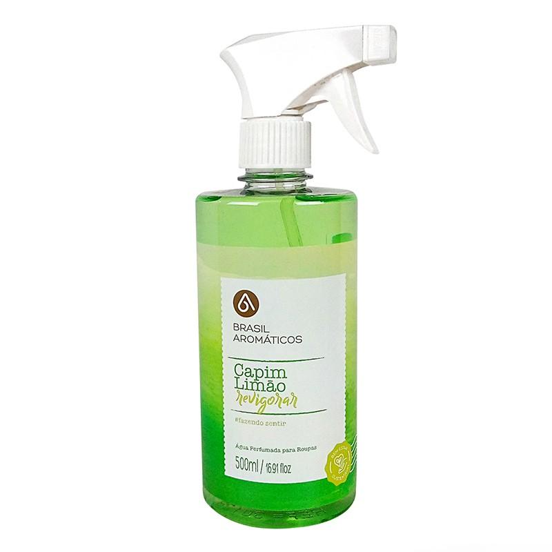 Água Perfumada para Roupas Capim Limão 500ml
