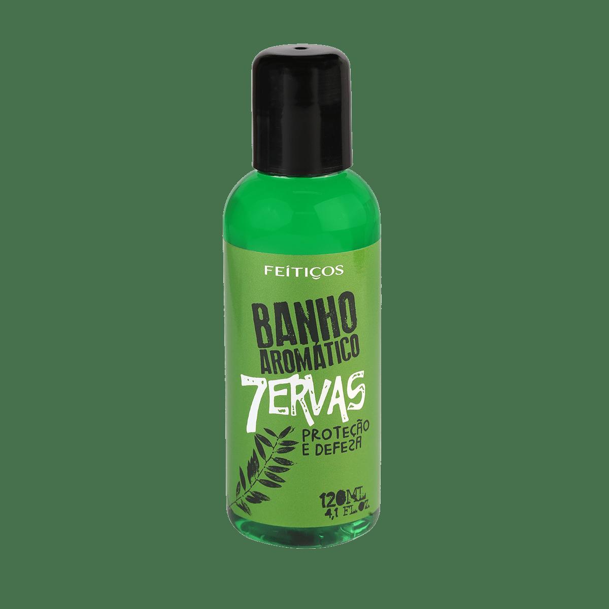 Banho Aromático 7 Ervas - Proteção e Defesa 120ml - Nova Magia