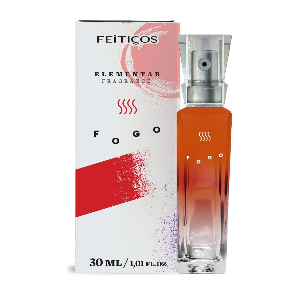 Perfume Elementar dos Signos de Fogo Paixão 30ml