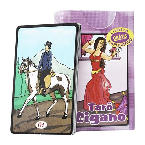 Tarô Cigano 36 cartas mágicas