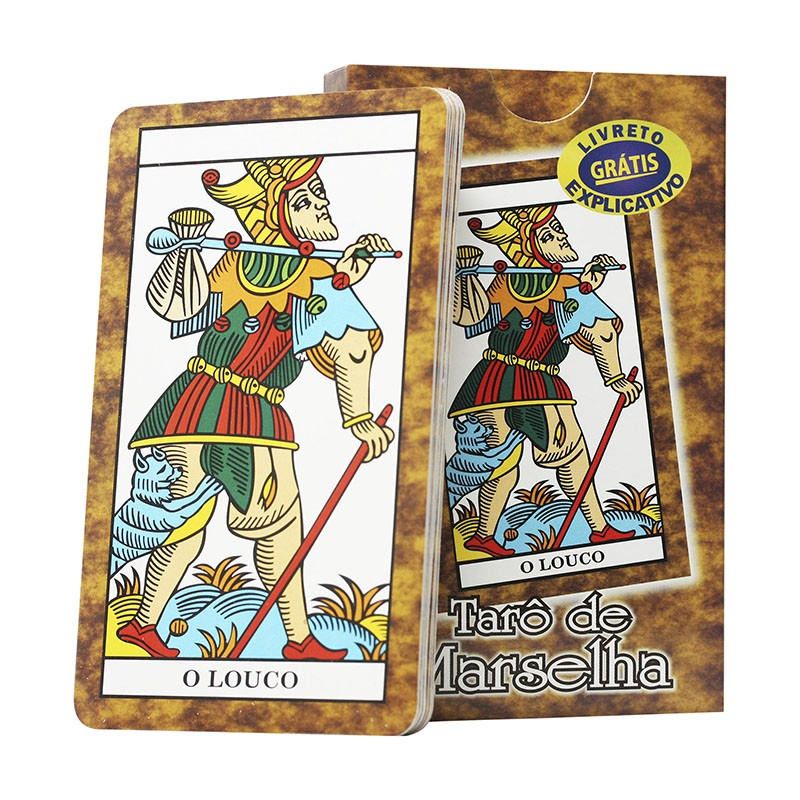 Tarô de Marselha 22 cartas Arcanos Maiores