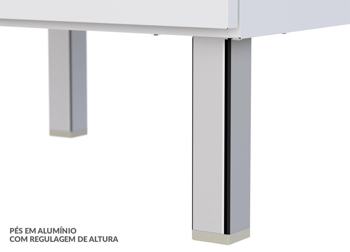 Paneleiro em Aço Gaia Flat Cozimax - Branco