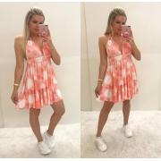 Vestido Priscila Coral