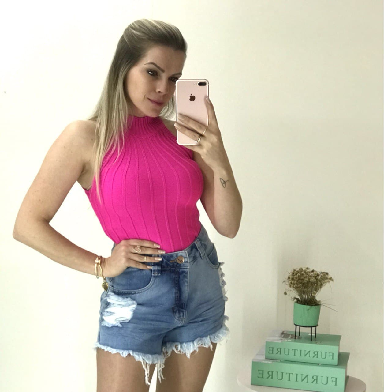 Blusa Modal Pink