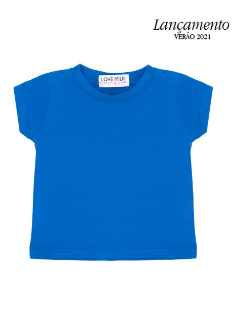Blusa Tal Filhos - Menina e Menino - Azul