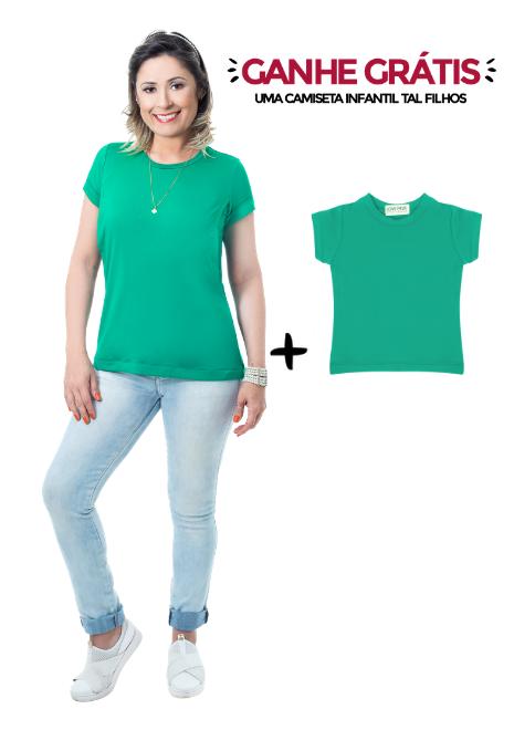Camiseta de amamentação Vienna + Blusa Tal Filhos