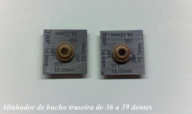 ALINHADOR DE BUCHAS PARA EIXOS 3/32 4 MEDIDAS ACOMPANHA EIXO LONGO 90MM