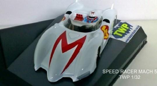 MACH 5 SPEED RACER PINTADA