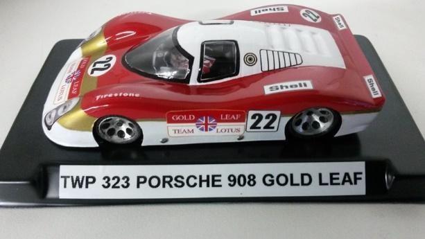 PORSCHE 908 GOLDLEAF PINTADA