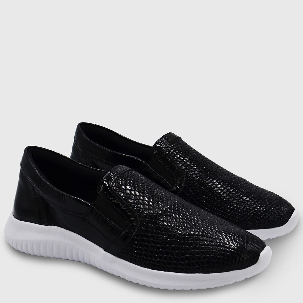 Sliper Fun Croco Preto
