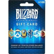 Cartao Blizzard Battle.net R$ 100 Reais