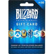 Cartao Blizzard Battle.net R$ 50 Reais