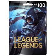 Cartão League Of Legends R$100