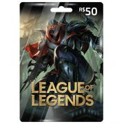 Cartão League Of Legends R$50