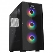 Gabinete Gamer Redragon, Cosmos, Mid Tower, Vidro Temperado