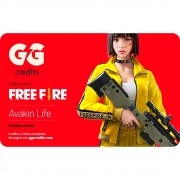 Gift Card Digital Free Fire - GG Credits R$150