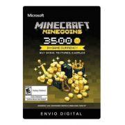 Minecraft Minecoins 3500 Moedas Gift Card