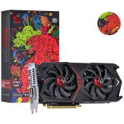 Placa De Video Pcyes Amd Radeon Rx 570 8gb Gddr5 256 Bits Dual-Fan Graffiti Series