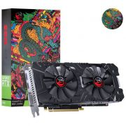 Placa De Video Pcyes Geforce Rtx 2060 6gb Gddr6 192 Bits Dual-Fan Graffiti Series