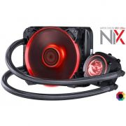 Water Cooler Nix 120mm Mangueiras De Nylon E Led Rgb