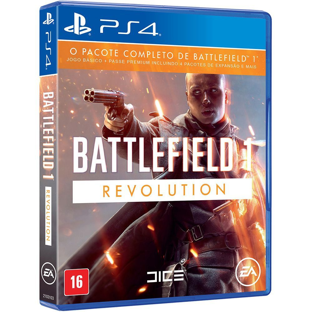 Battlefield 1 Revolution - Ps4  -  Games Lord