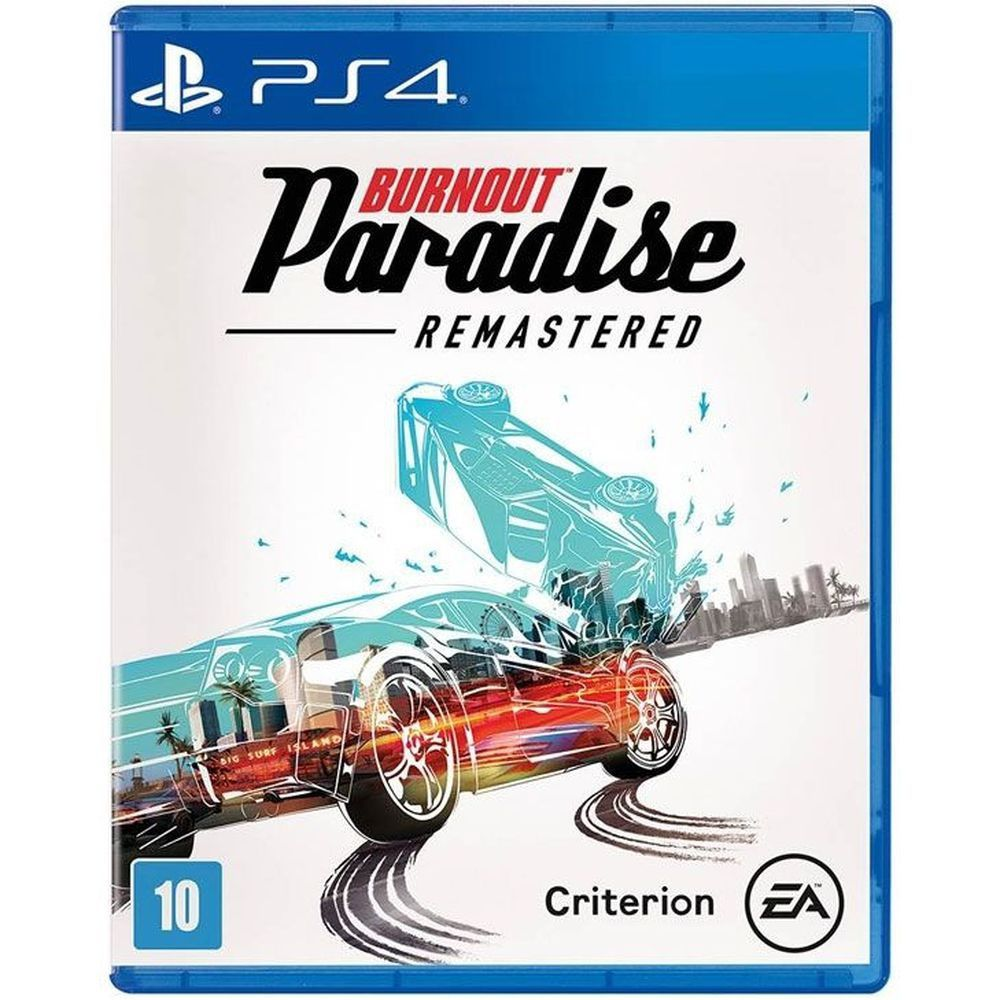Burnout Paradise Remastered - Ps4  -  Games Lord