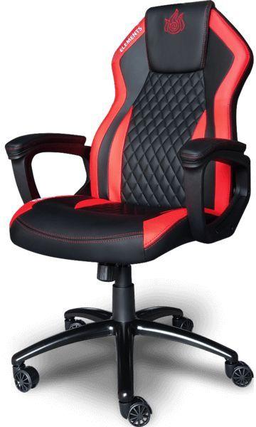 Cadeira Gamer Elements Elemental Ignis  -  Games Lord