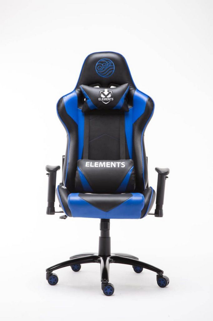 Cadeira Gamer Elements Veda Acqua  -  Games Lord